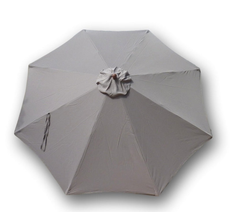 11ft Market Patio Umbrella 8 Rib Replacement Canopy Taupe - Formosa Covers