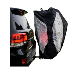 Quad Bike Rack Cover For Transport (Fits 3-4 Bikes) Extra Large Translucent Ends - Formosa Covers