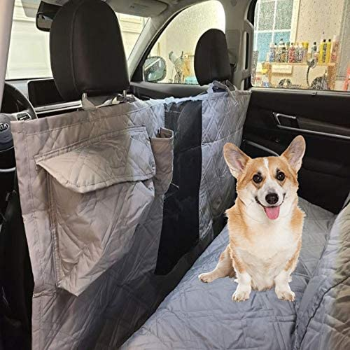 "XX-Large Pet Seat Cover For Truck, Van or Large SUV 62""W Grey"