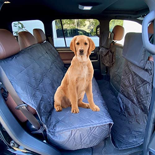 "XX-Large Pet Seat Cover For Truck, Van or Large SUV 62""W Black"