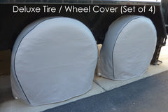 Deluxe tire/wheel covers fits tire 33.5