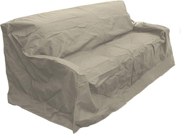 "Patio Outdoor Large Sofa Cover Up to 93""L Taupe"