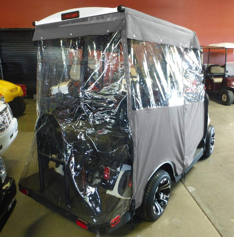 2 or 4 Passenger Golf Cart Driving Enclosure Cover Exclusive for EZGO 2 Five Model