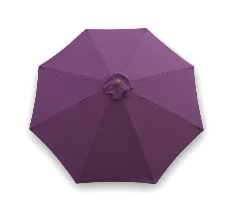 9ft Market Patio Umbrella 8 Rib Replacement Canopy Purple - Formosa Covers