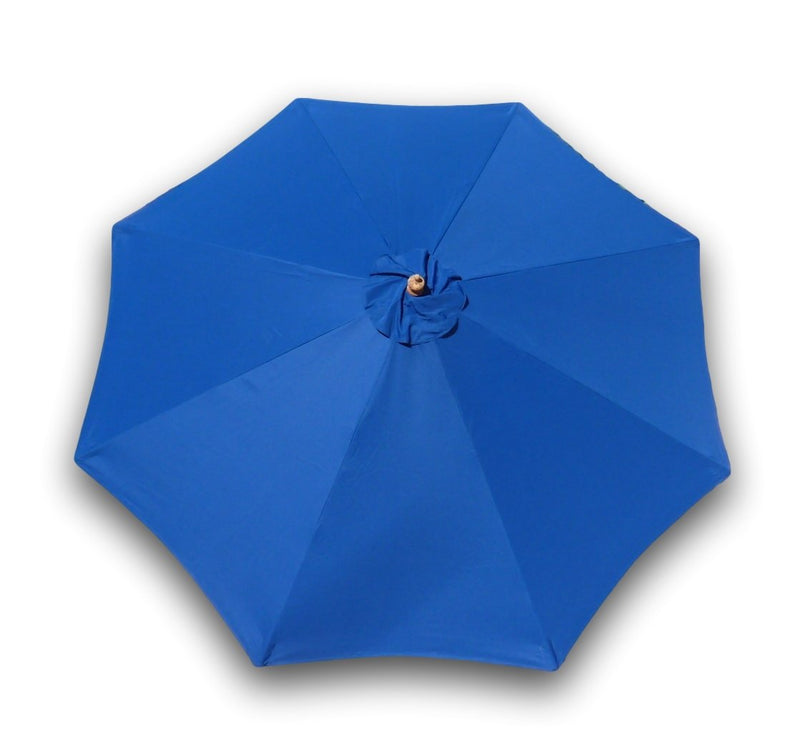 9ft Market Patio Umbrella 8 Rib Replacement Canopy Royal Blue - Formosa Covers