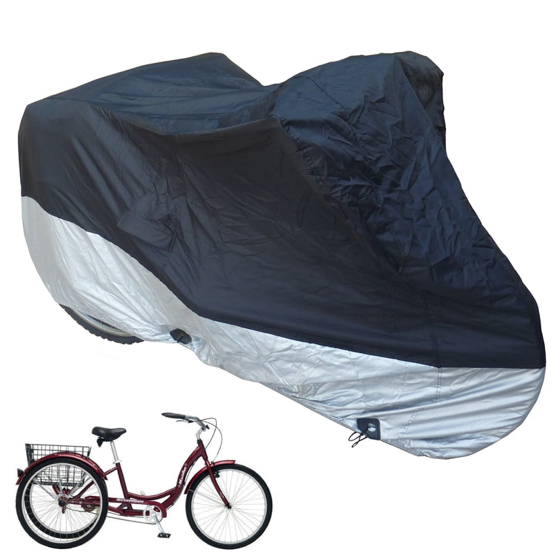 "Heavy Duty Adult Tricycle Cover Fits up to 26"" Wheel - Formosa Covers"