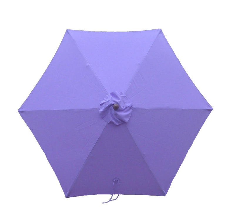 9ft Market Patio Umbrella 6 Rib Replacement Canopy Lavender - Formosa Covers