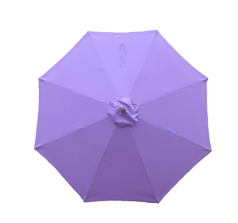 9ft Market Patio Umbrella 8 Rib Replacement Canopy Lavender - Formosa Covers