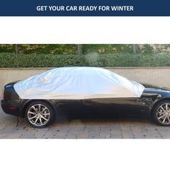 Car Snow and Windshield Sun Shade Full Top Cover fits Full to Large Size Car - Formosa Covers