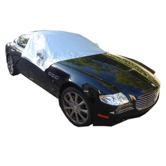 Car Snow and Windshield Sun Shade Half Top Cover fits Full to Large Size Car - Formosa Covers