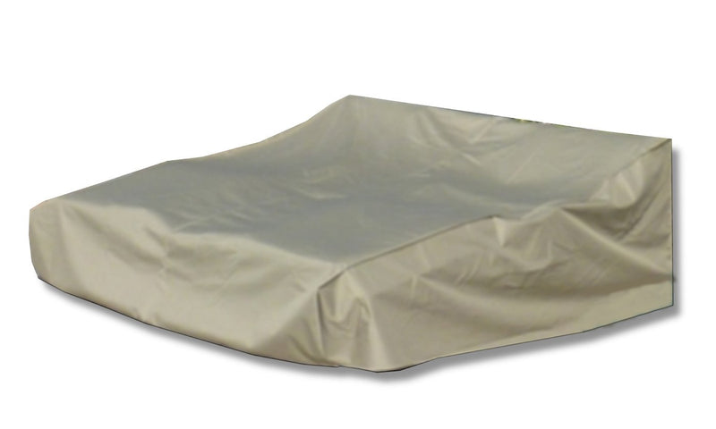 "Patio Double Chaise Lounge Cover 90""L x 75""W x 30""H Classic Taupe - Formosa Covers"