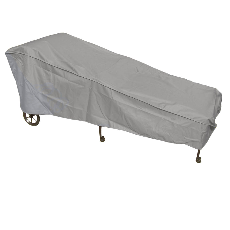"Patio Chaise Lounge Cover 84""L x 30""W x 29""H Reserve Grey - Formosa Covers"
