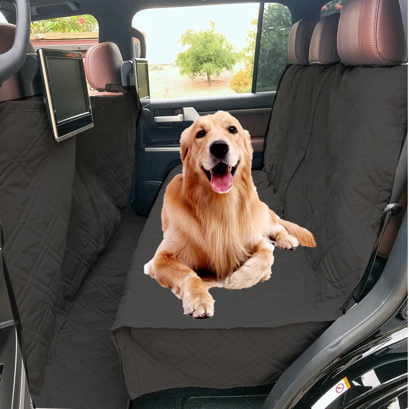 "X-Large Car Seat Cover For Dogs and Pets 56""W Black - Formosa Covers"