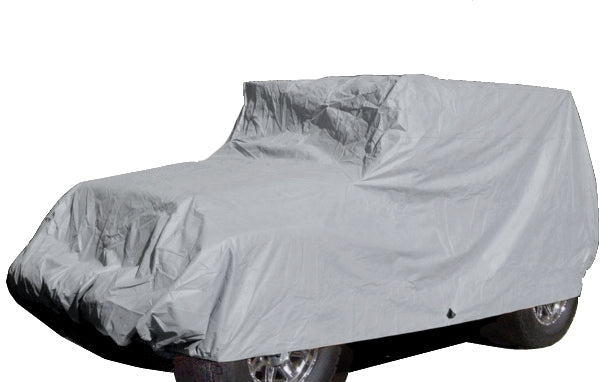 Jeep Cover fits 2007-2020 Jeep Wrangler 2 doors Poly 200 in Grey - Formosa Covers