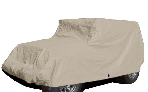 Jeep Cover fits 2007-2020 Jeep Wrangler 2 doors in Taupe - Formosa Covers
