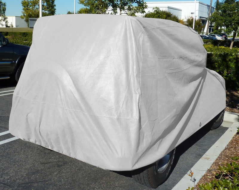 Jeep Cover fits 2007-2020 Jeep Wrangler 4 doors Unlimited Poly 200 in Grey - Formosa Covers