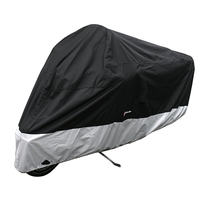 Deluxe Motorcycle Cover, All Season & Light Weight (XXL) Black - Formosa Covers