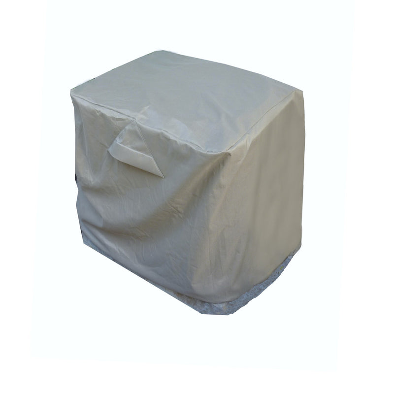 "Square Shape Air Conditioner Cover 34""L x 34""W x 30""H Classic Taupe - Formosa Covers"