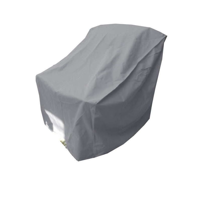 "Patio Outdoor Large Club Chair Cover 40""W x 34""D x 39""H Reserve Grey"