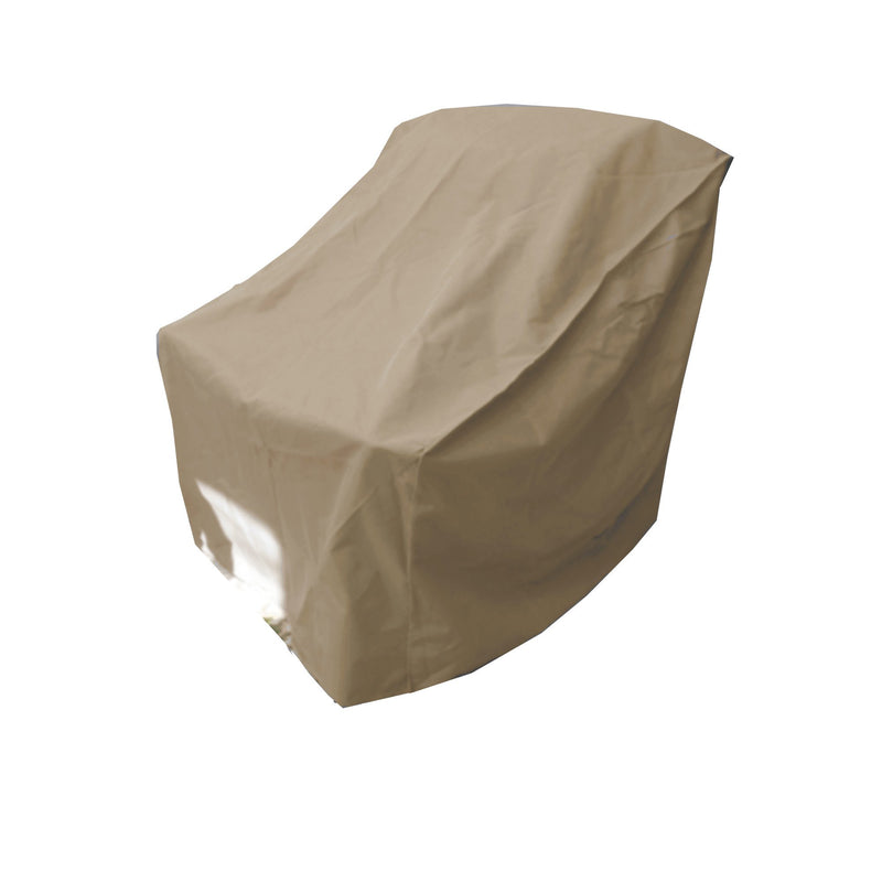 "Patio Outdoor Large Club Chair Cover 40""W x 34""D x 39""H Classic Taupe - Formosa Covers"