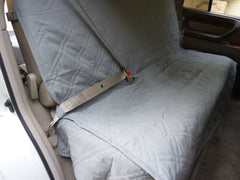Car Seat Bench Cover For Dogs and Pets Grey - Formosa Covers