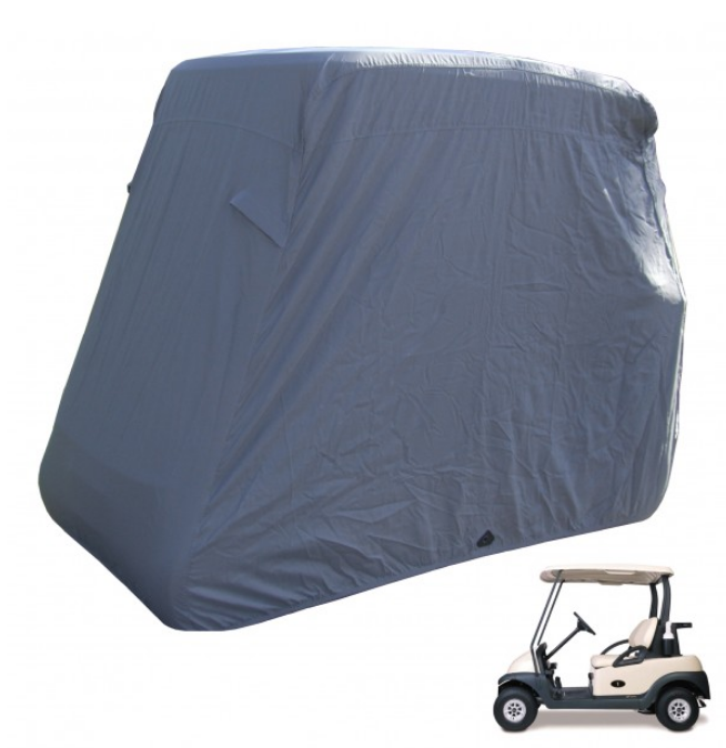 2 Passenger Golf Cart Storage Cover Grey - Formosa Covers