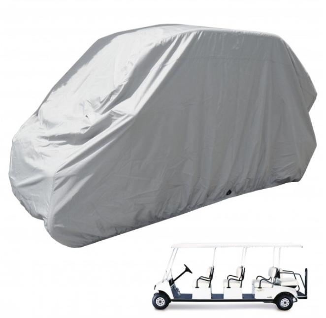 8 Passenger Golf Cart Storage Cover Grey - Formosa Covers