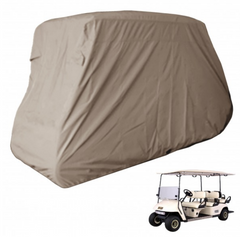 6 Passenger Golf Cart Storage Cover Taupe - Formosa Covers