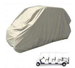 8 Passenger Golf Cart Storage Cover Taupe - Formosa Covers