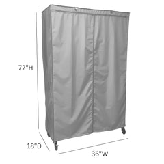 Storage Shelving Unit Cover, fits racks 36