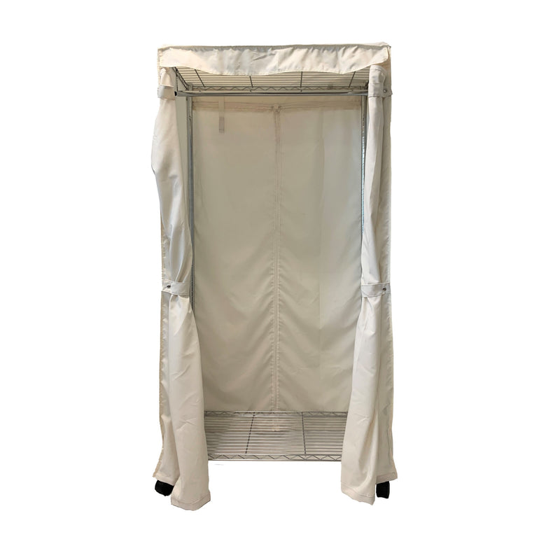 "Portable Garment Rack Cover 36""Wx18""Dx68""H"