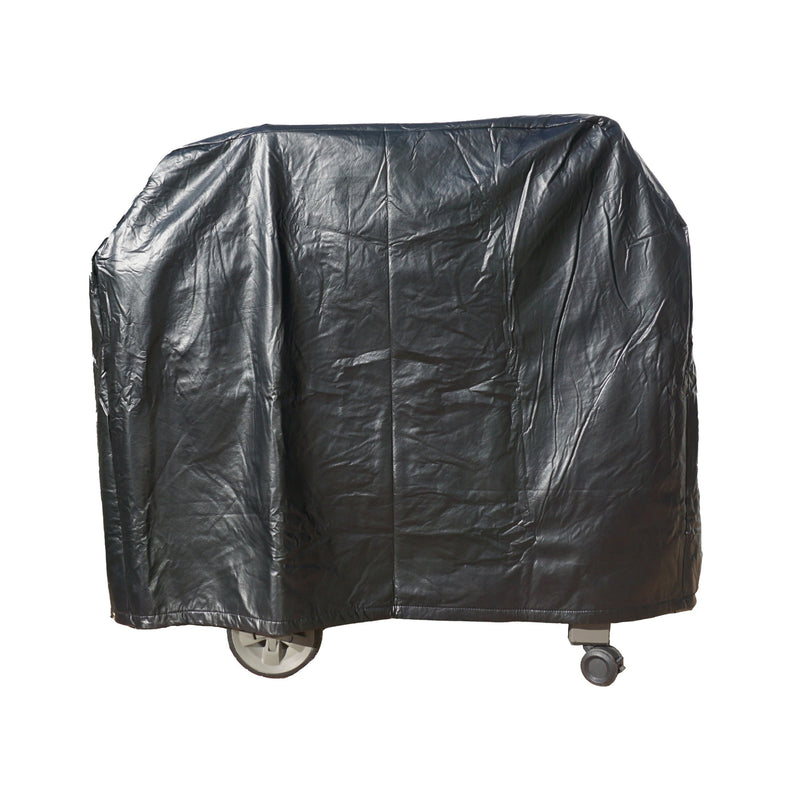 "BBQ Outdoor Grill Cover 84""L x 26""D x 48""H Black Vinyl"