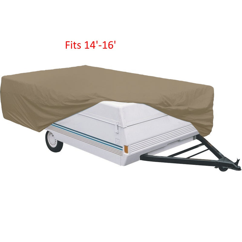 Camper Tent Trailer Cover 14'-16' - Formosa Covers