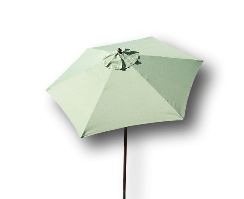 7.5ft Aluminum Patio Garden Market Umbrella with Crank and Tilt Mechanism Sage Green - Formosa Covers