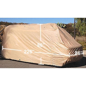 "Conversion Van Class B RV Cover for Standard Wheel Base 226""L x 86""W x 86""H - Formosa Covers"