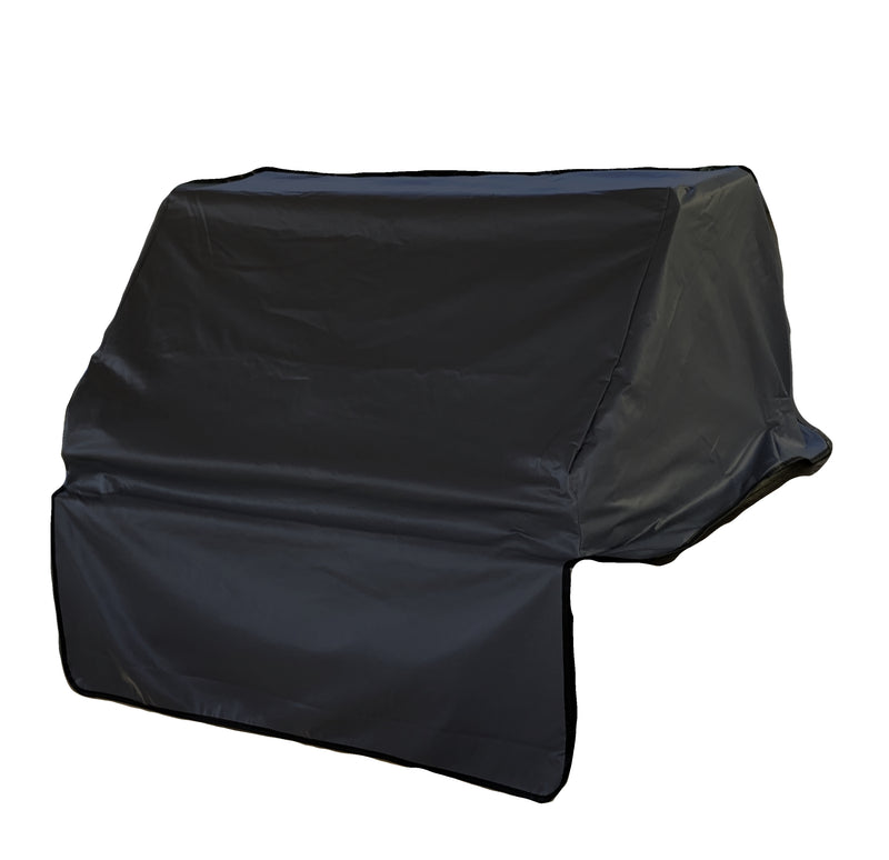 "Built-In BBQ Outdoor Gas Grill Cover 45""L x 30""D x 16""H Vinyl Black"