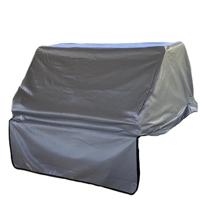 "Built-In BBQ Outdoor Gas Grill Cover 56""L x 30""D x 16""H Vinyl Grey"