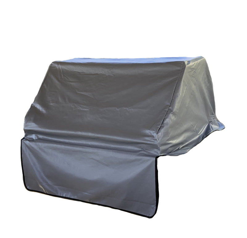 "Built-In BBQ Outdoor Gas Grill Cover 33""L x 30""D x 16""H Vinyl Grey"