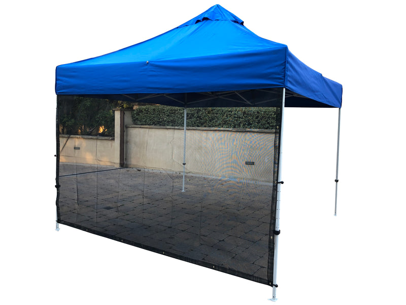 "Sun Shade Screen Panel for Canopy, Gazebo, Pergola, Balconies, Porches, Patio Awning, Patio Full 118""W x 72""H - Formosa Covers"