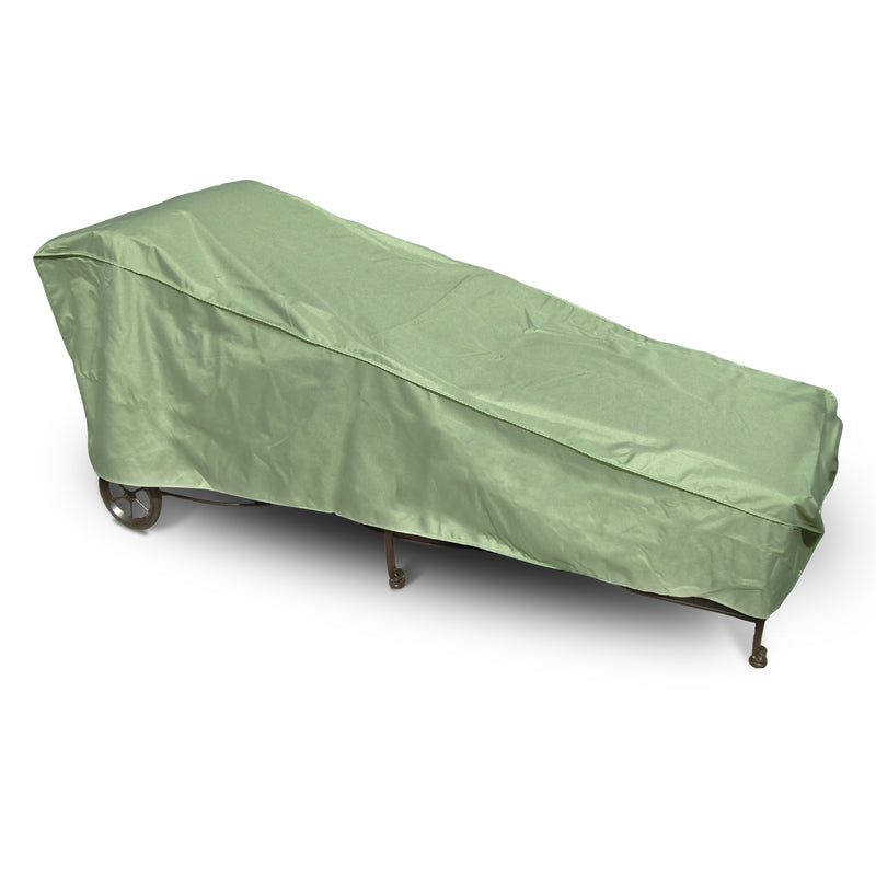 "Patio Chaise Lounge Cover 84""L x 30""W x 29""H Aspen Green"