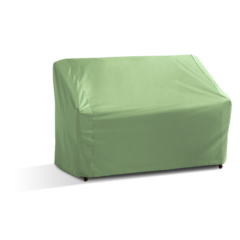 "Patio Loveseat Bench Cover Up to 60""L Aspen Green"