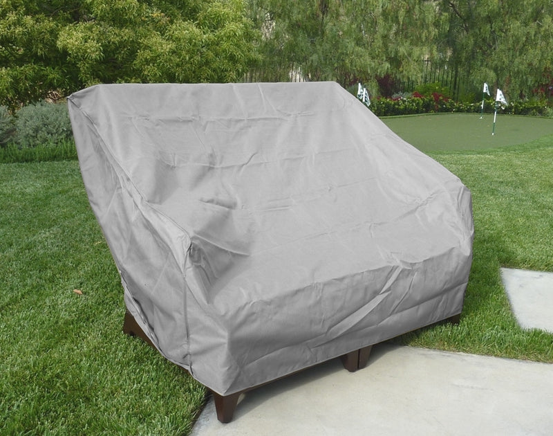"Patio Loveseat Bench Cover Up to 60""L Reserve Grey - Formosa Covers"