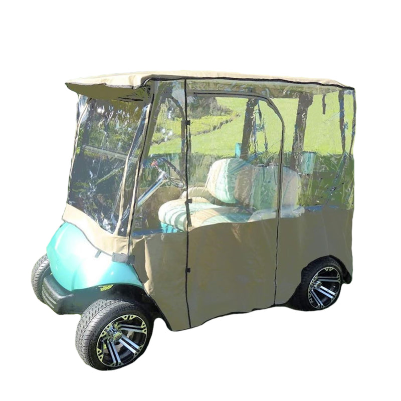 2 Passenger Golf Cart Driving Enclosure Cover Exclusive for Yamaha Drive Model