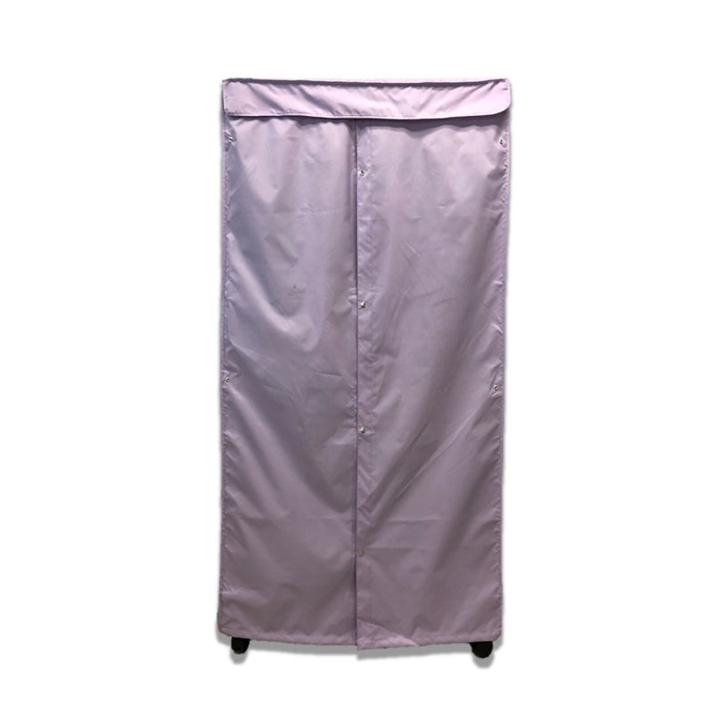 "Portable Garment Rack Cover 36""W x 18""D x 68""H Lilac Purple"