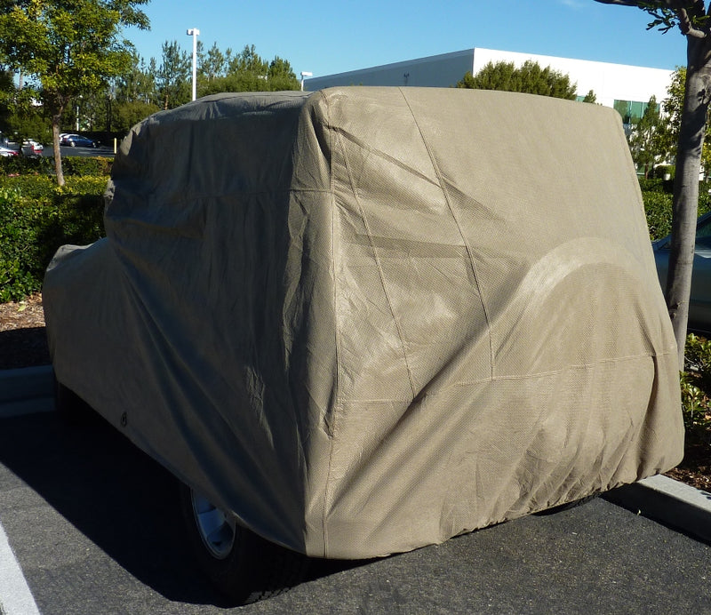 Jeep Cover fits 2007-2020 Jeep Wrangler 4 doors Unlimited in Taupe - Formosa Covers