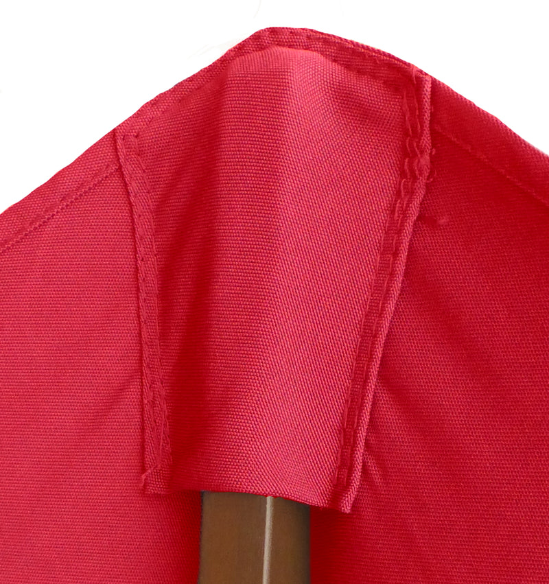 11ft Cantilever Supported Bar Umbrella 8 Rib Replacement Canopy Red