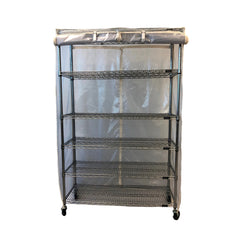 Storage Shelving Unit Cover, fits racks 48