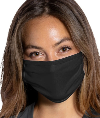 Port Authority® Cotton Knit Face Mask with Custom Prints Available