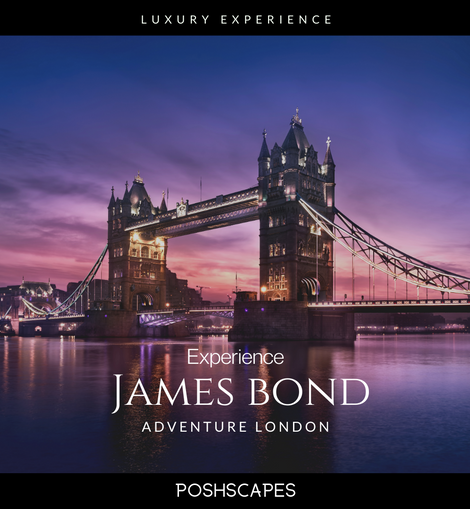 James Bond adventures London