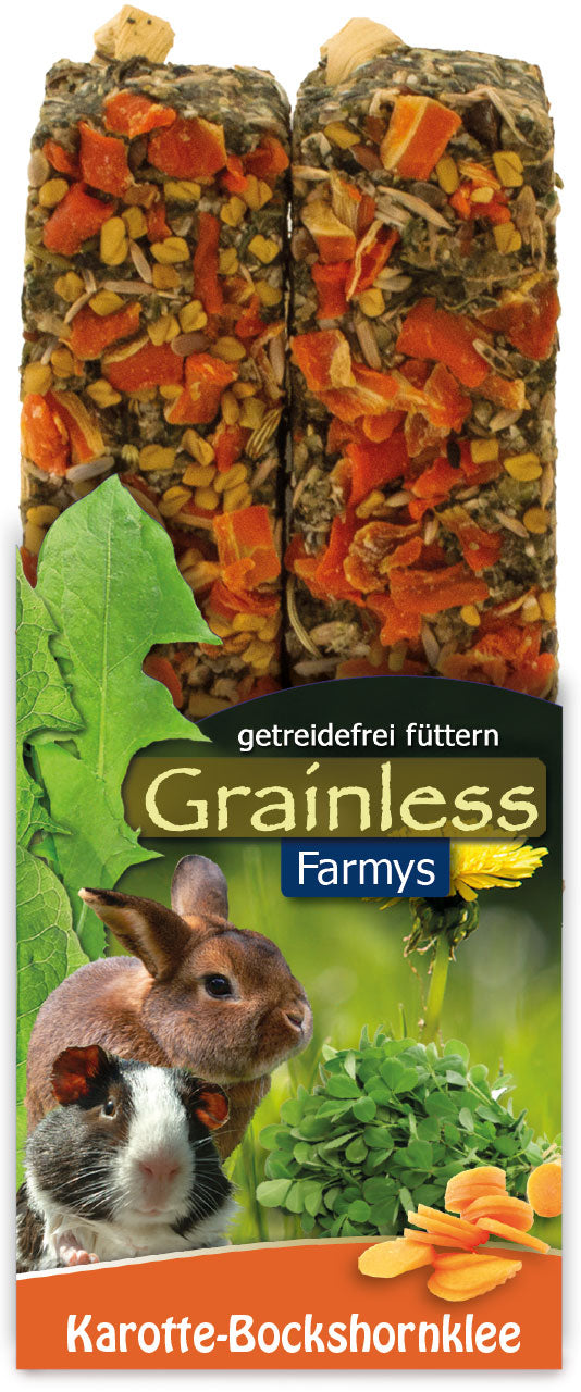 JR Farm rodent Grainless Farmys carrot-fenugreek